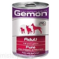 Gemon Консервы Dog Adult Pate Beef Tripe 400 г