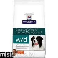 HILL'S PRESCRIPTION DIET CANINE W/D WITH CHICKEN