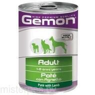Gemon Консервы Dog Adult Pate Lamb 400 г