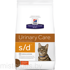 HILL'S PRESCRIPTION DIET S/D URINARY CARE CAT