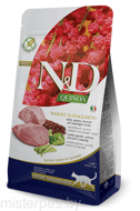 FARMINA N&D CAT QUINOA WEIGHT MANAGEMENT LAMB & BROCCOLI