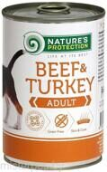 Nature's Protection Adult Beef & Turkey 400 г