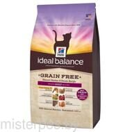HILL'S IDEAL BALANCE FELINE ADULT NO GRAIN CHICKEN&POTATO