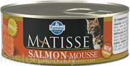 Консервы Farmina Matisse Cat Mousse Salmon