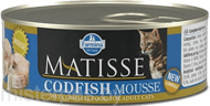 Консервы Farmina Matisse Cat Mousse Codfish