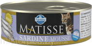 Консервы Farmina Matisse Cat Mousse Sardine