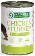 Nature's Protection Adult Chicken & Turkey 400 г