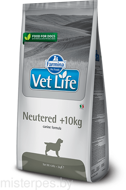 FARMINA VET LIVE DOG NEUTERED +10 кг